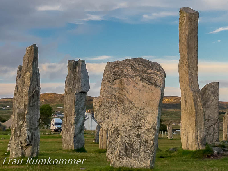 Standing Stones of Callanish auf der Isle of Lewis and Harris