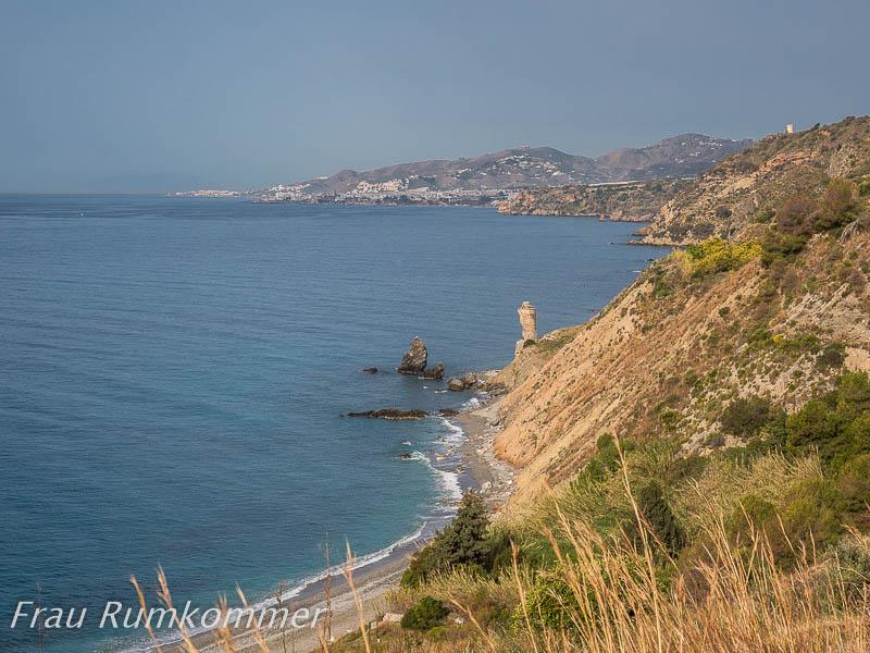 Costa Del Sol Herumkommer Und Frau Rumkommer